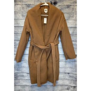 ***SOLD****NWT Gap wool trench coat with belt